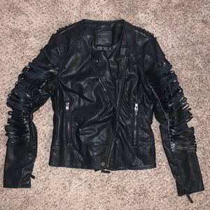 Blank NYC leather